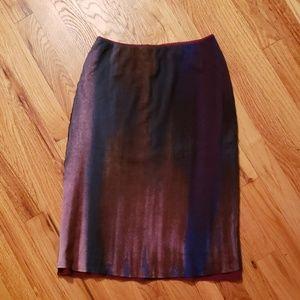 Vintage Vivienne Tam Bias Cut Slip Skirt